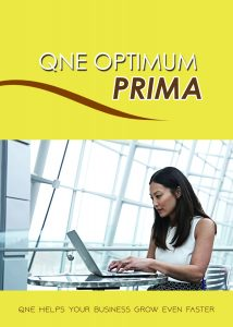 QNE Optimum Accounting Software-Prima