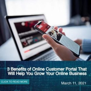 3 Benefits of Online Customer Portal That Will Help You Grow Your Online Business