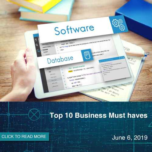 Top 10 Business Must Haves