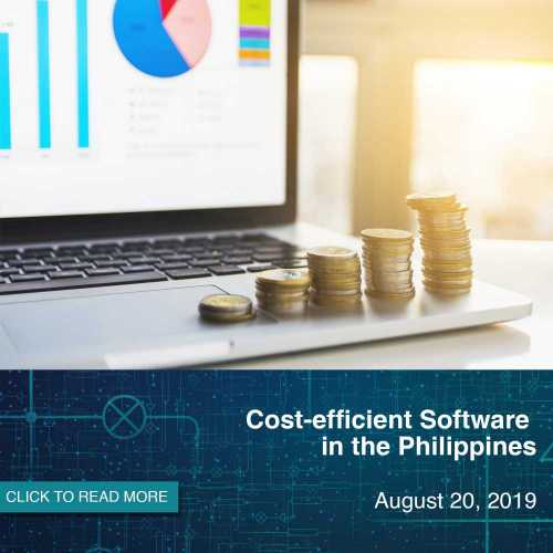 Cost efficient software in Philippines